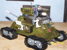 UNSC Bonaparte Raccoon Tank 12 by coonk9