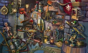 hidden object by Eneada