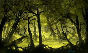 Alien Swamp by JGHart