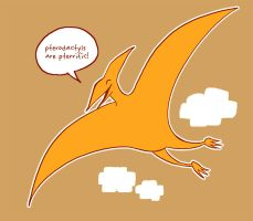 Pterodactyls by Lepas