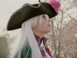 Fem!Prussia Cosplay: Snow on the Battlefield by Kyrstini