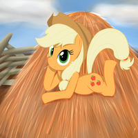 MLP Applejack by Mewyk91