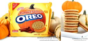 Pumpkin Spice Oreo Cookie by chat-noir