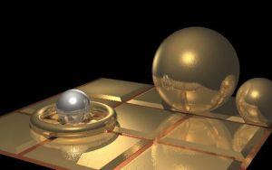Raytraced metal objects by mcsoftware