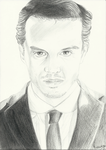Jim Moriarty by dragonkisuke