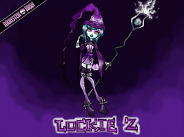 Monster High Contest- Lockie Z by CelviJo