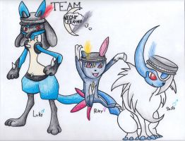 Team Nightfeather by Aqws7