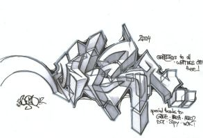 Freestyle by onisan