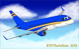 Terry the Embraer E-170 by B737TheAirliner