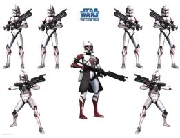 Clone Wars Wallpaper by Derfs-Domain