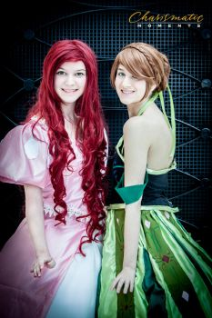 Ariel and Anna by wstoneburner