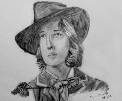 Oscar Wilde quick sketch by Nippip