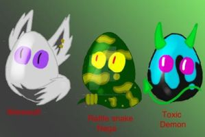 Monster Egg auction (OPEN 1/3) by InvaderNexis