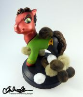 Trouble With Tribbles Custom Pony by thatg33kgirl