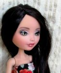 Lucia (ooak custom ever after high doll) by Katalin89