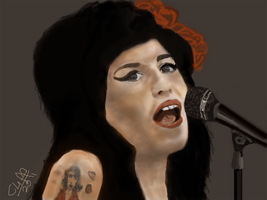 amy 2 wip by cliffbuck