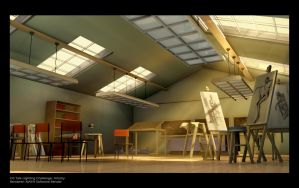 Art_studio 3D by DANNY-KURIAN