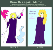 Before and After: Marzun Azavendo by XDTheServine