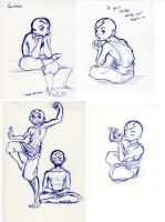 avatar ballpointed pen doodles by CryBaby89