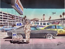 The Life Story Of A 1970 Chevy Chevelle (Part 22) by FastLaneIllustration