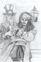 Depp arrested by Uncle Sam by firesprite