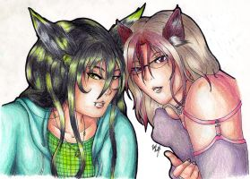 Isa and Meru by lain-of-wired