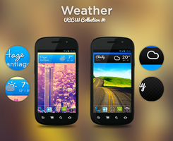 Weather Widgets Collection #1 by HappyFORlife