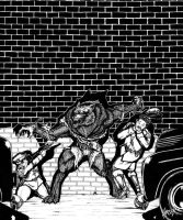 Wolfman v. Coppers by HarshRealities