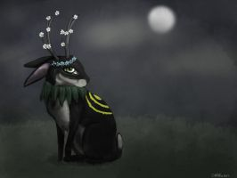 Mother nature in her rabbit form by RRRAVEN