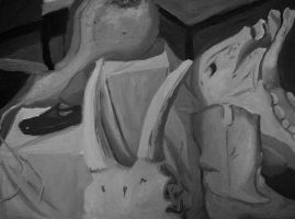 Oils, value study 1 by PabloQ