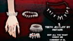 Teeth Jewelry download by RiStarr