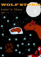 front page cover for lunars story part one by whenwolveshowl