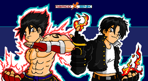NAMCO x SNK by PomBadguy
