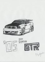 Ford Mustang GTR by Master-Bryon