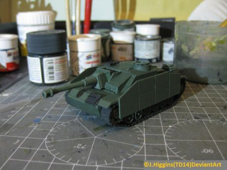 ArmourFast 1/72 Stuh 42 WIP2 by Tank-Dragon2014