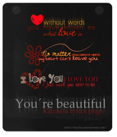 You are beautiful Kdrama lyrics pngs by Paulysa