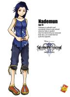 .:Kingdom Hearts - Nademun:. by CrystalNilcoire