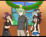N the Christmas Tree by himanuts