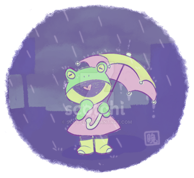 frogolate rain by scotchi