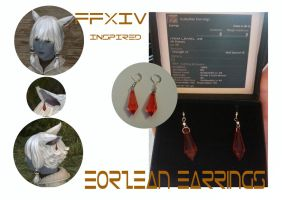 Final Fantasy 14 - Eorzean inspired Earrings by Idlewings