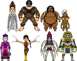 Edo Marvel: Tendai Villains by Red-Rum-18