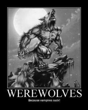 WHY TO BE A WEREWOLF by CRYPTID-MAN