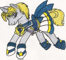 S.Sailor Uranus Pony by CooperGal24