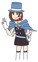 Trucy Wright Vector by pikmin789
