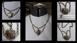 Steampunk Necklace 2 by tanyadavisart
