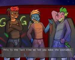 Going to the club, Part 1 by fuzedragons