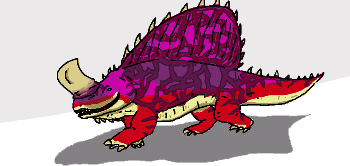 Jurassic world the game Dimetrodon by dinomaster15
