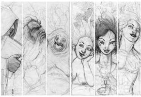 the endless sketches by marchine
