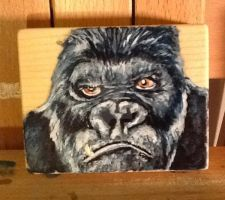 King Kong by Tina Gilbert by cleverquandary