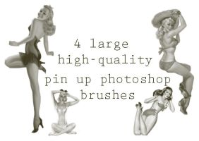 pin-up_brushes by scrappythings